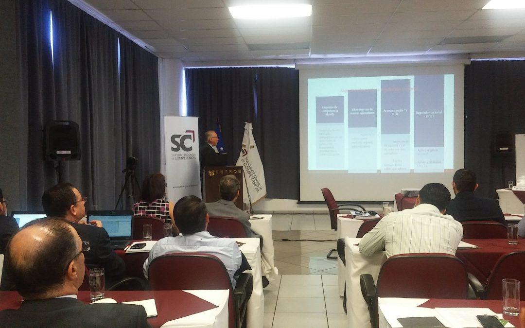 SC presenta resultados de estudios de energía eléctrica