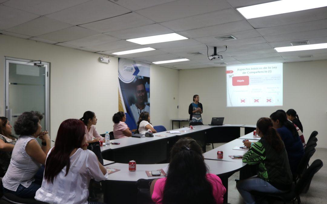 SC promueve cultura de competencia  entre PYMEs
