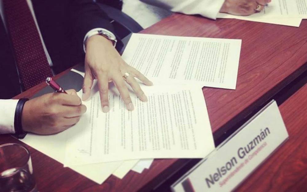 UNAC y la SC firman Carta de Entendimiento