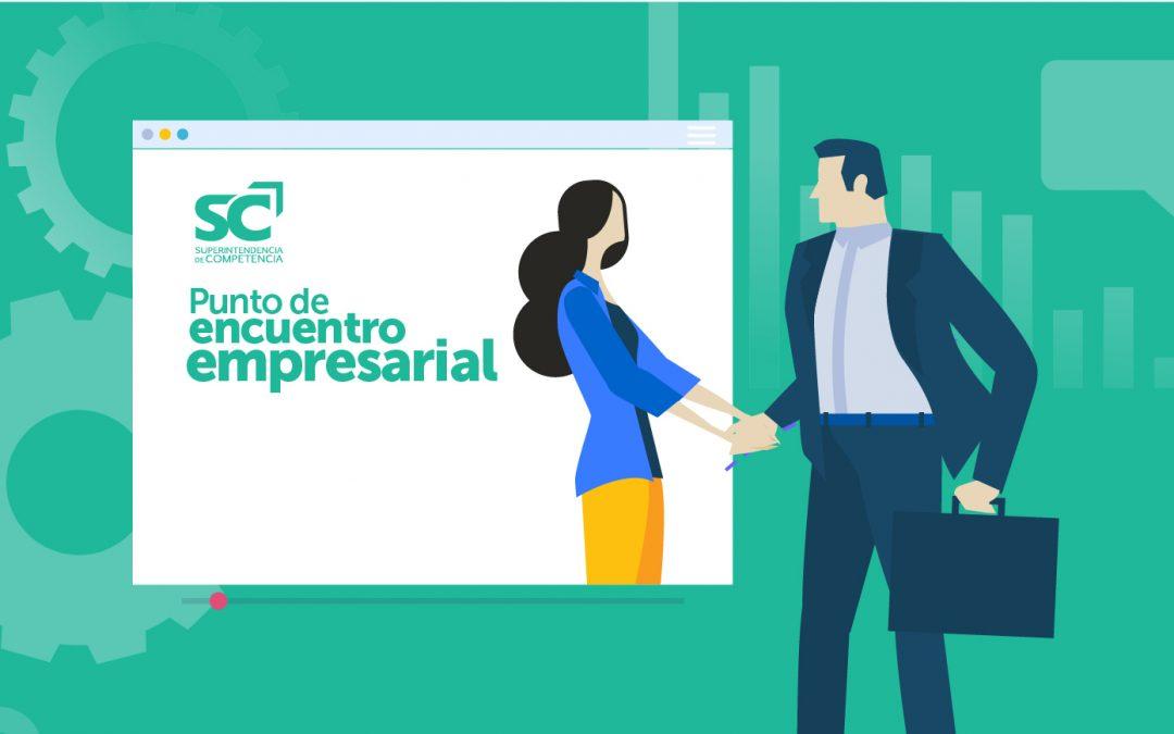 """Primer """"Punto de encuentro virtual empresarial"""" de la SC"""